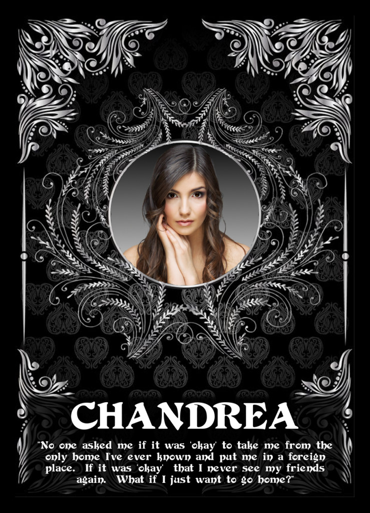 """Chandrea - The Return of the Avatar Queen"" - Chandrea Trading Card"
