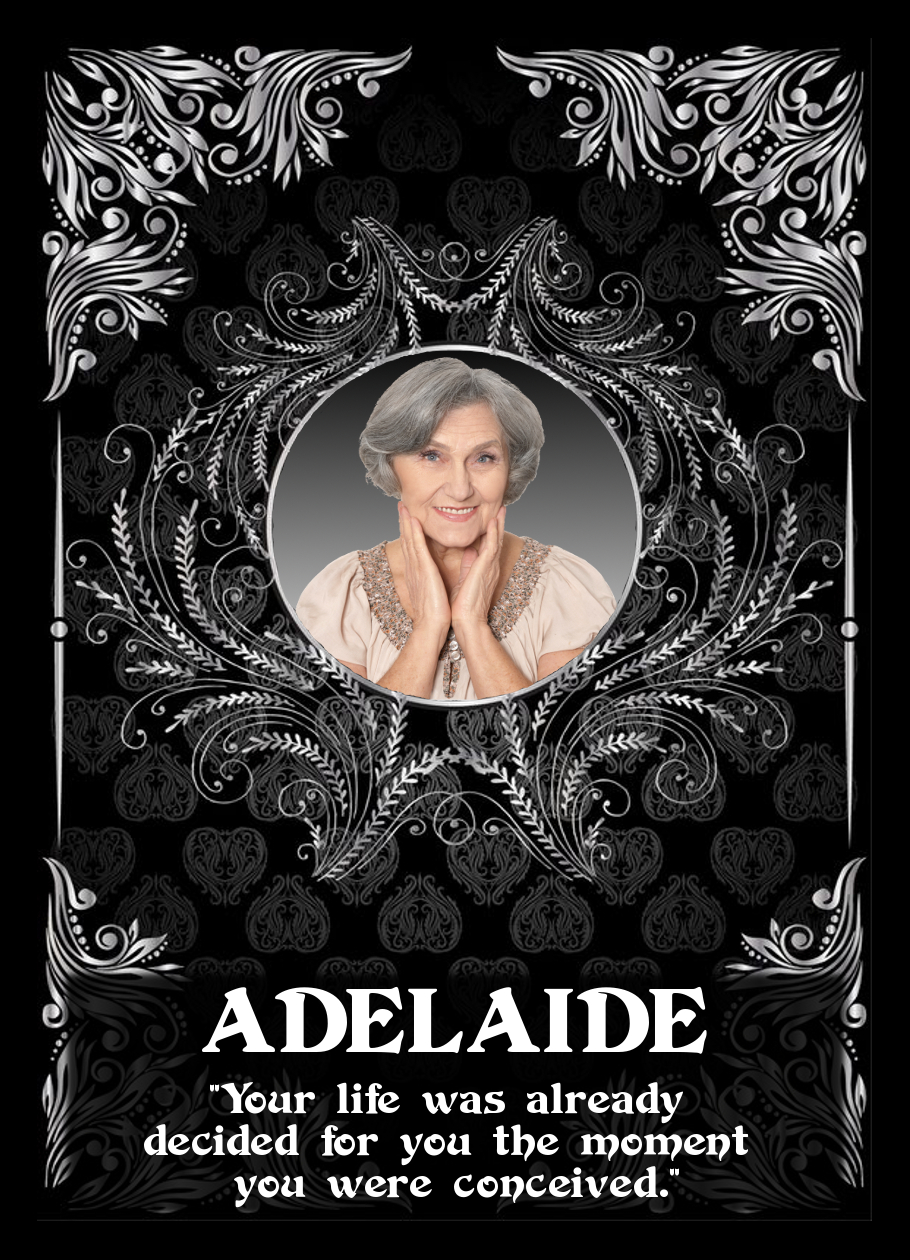 """Chandrea - The Return of the Avatar Queen"" - Adelaide Trading Card"