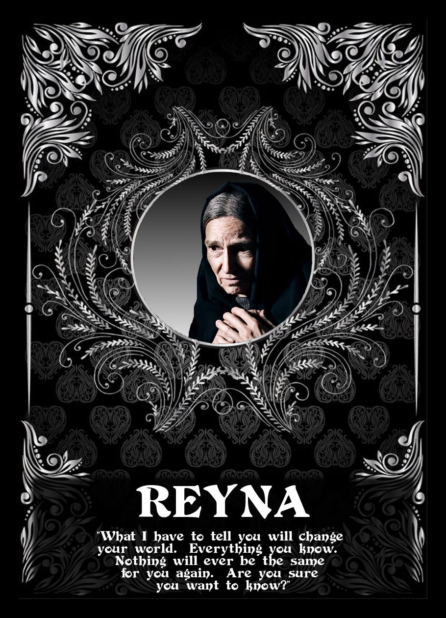 """Chandrea - The Return of the Avatar Queen"" - Reyna Trading Card"